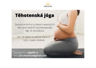 Kurz těhotenské jógy od 13.1.2021