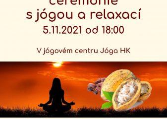 Kakaová ceremonie s jógou a relaxací