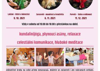 Adi šakti kundalini jóga pro ženy s Danielou Krynkovou