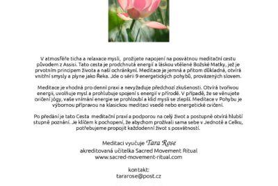 Meditace v pohybu – víkendový seminář